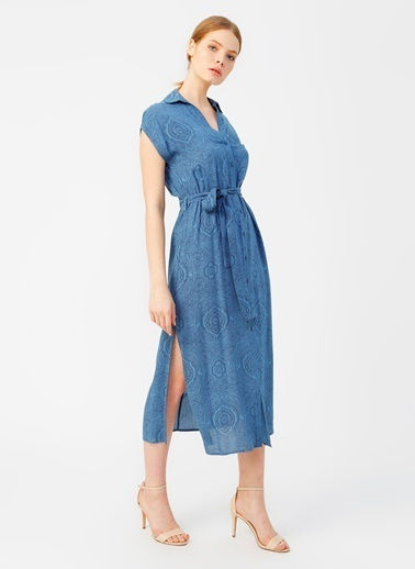 Random Elbise Mavi
